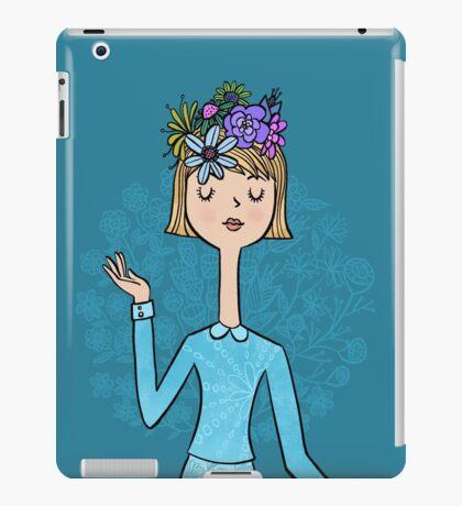 Blue Belle iPad Case/Skin