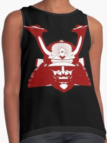 Kabuto graphic in red and white Contrast Tank