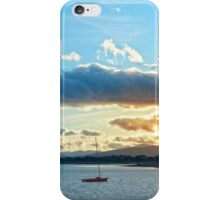 quiet bay with island near kenmare at sunset iPhone Case/Skin
