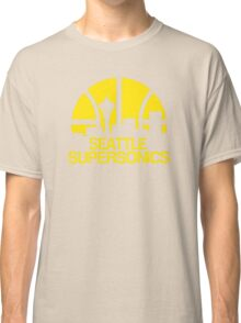SEATTLE SUPERSONICS BASKETBALL RETRO Classic T-Shirt