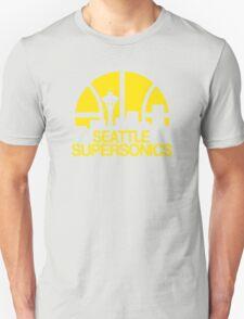 SEATTLE SUPERSONICS BASKETBALL RETRO Unisex T-Shirt