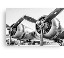 Vintage Plane Canvas Print