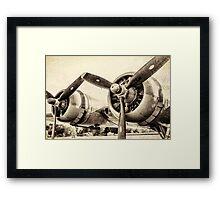 Vintage WWII Plane  Framed Print