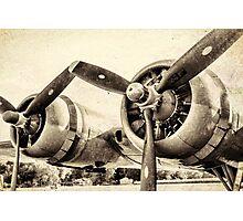 Vintage WWII Plane  Photographic Print