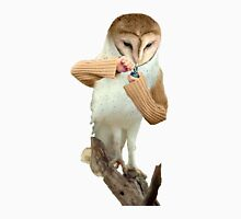 A Barn Owl smoking a Bowl Unisex T-Shirt