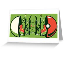 Series 2 - Grass Type Greeting Card