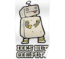 Does Not Compute Poster