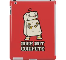 Does Not Compute iPad Case/Skin