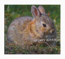 Grumpy Bunny -   Anytime Cute Kids Tee