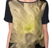 Chrysanthemum Chiffon Top
