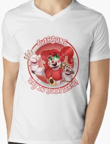Stay In Your Seats - Baby FNAF-SL Mens V-Neck T-Shirt