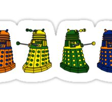 The Grateful Daleks (No Text) Sticker