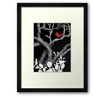 The return of the Cardinal  Framed Print