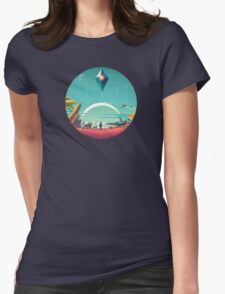 No mans sky Womens Fitted T-Shirt
