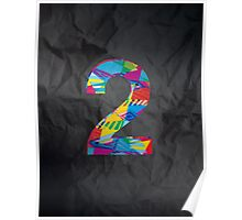 Number 2 Poster