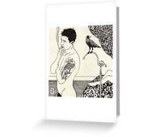 Something Is Different Greeting Card