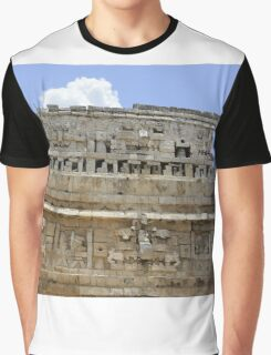 Ancient Ruins in Mexico Graphic T-Shirt