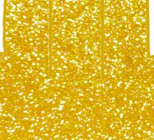 Gold Glitter Hamsa Sticker