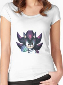 Shadow the Hedgehog Chaos Control Women's Fitted Scoop T-Shirt