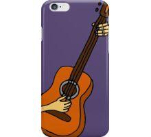 Cool Playing Guitar Art iPhone Case/Skin