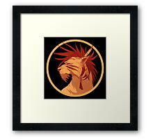 Red XIII Framed Print