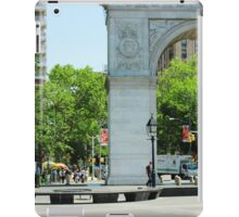 Washington Square Park iPad Case/Skin