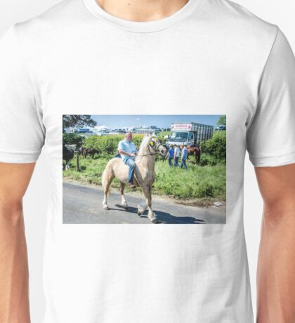 In a Quandary. Unisex T-Shirt