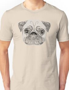 Swirly Pug T-Shirt