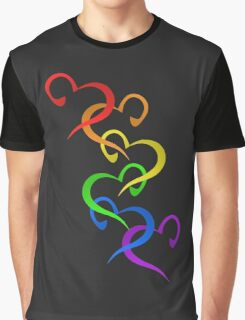 Hearts of PRIDE Graphic T-Shirt