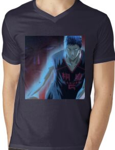 manga, anime -kuroko no basket- Mens V-Neck T-Shirt