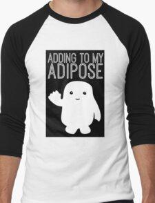Adding to My Adipose Doctor Who Men's Baseball ¾ T-Shirt
