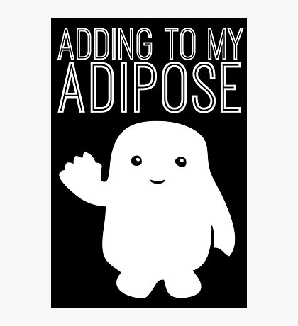 Adding to My Adipose Doctor Who Photographic Print
