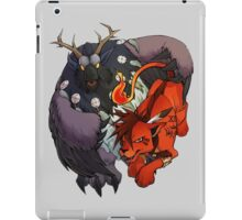 Red XIII and Moonkin iPad Case/Skin
