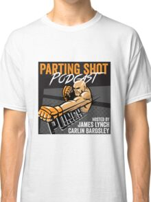 The Parting Shot Podcast - Official T-Shirt  Classic T-Shirt