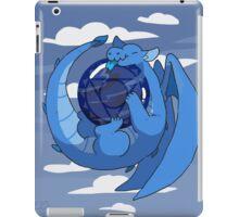 Sodalite dragon iPad Case/Skin