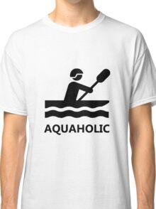 Aquaholic Kayak Classic T-Shirt