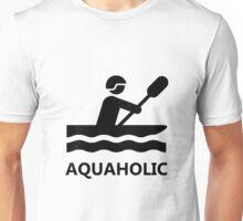 Aquaholic Kayak Unisex T-Shirt