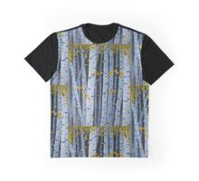 Ten Cardinals In Birch Trees Graphic T-Shirt