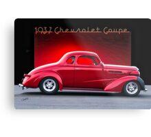 1937 Chevrolet Coupe 'Street Rod' Metal Print