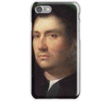 Giorgione (Giorgio da Castelfranco),  - Portrait of a Man iPhone Case/Skin