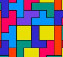 Tetris Blocks Pattern Sticker