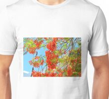 Red Flower Mexico Unisex T-Shirt