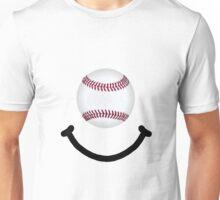 Baseball Smile Unisex T-Shirt