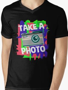 Cool Photographer design Mens V-Neck T-Shirt