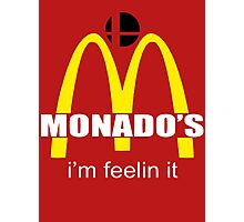Monado's - i'm feelin it - SM4SH Photographic Print