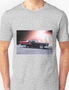 1955 Chevrolet Bel Air 'Two Door Hardtop' Unisex T-Shirt