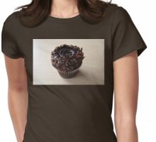 Chocolate Cupcake Womens Fitted T-Shirt