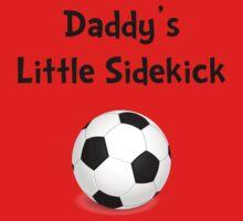 Daddy's Sidekick Soccer Kids Tee