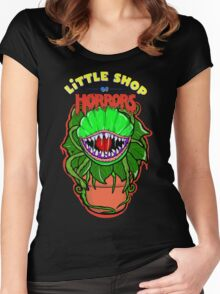 little shop of horrors Audrey 2 Women's Fitted Scoop T-Shirt