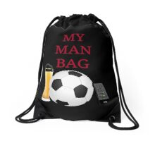 MAN BAG - Football Drawstring Bag